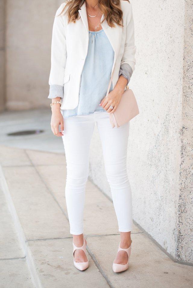 style the girl white on white