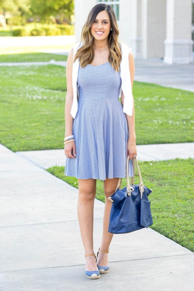 style the girl gingham dress