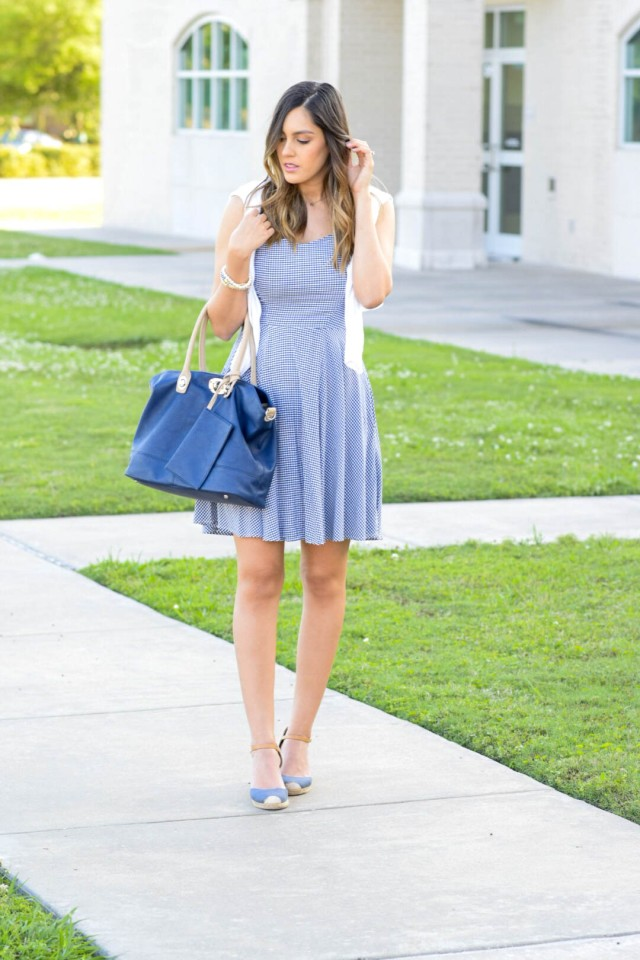 style the girl gingham dress1