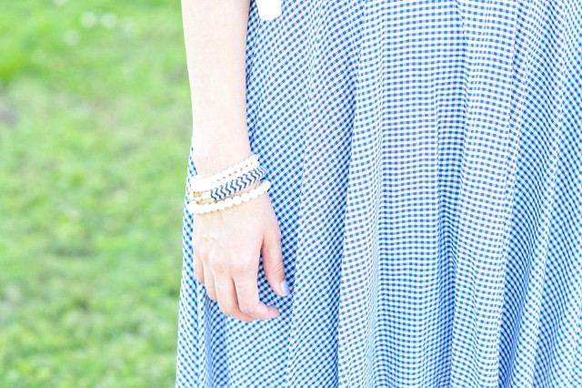 style the girl gingham dress8